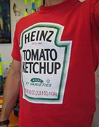 Heinz ketchup label T-shirt