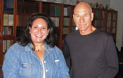 Marcy and Patrick Stewart