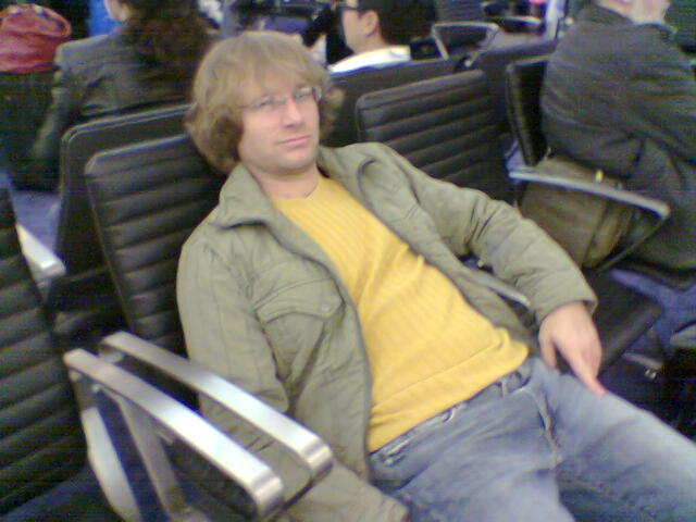 Waiting, waiting, waiting for the plane...