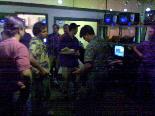 Min's bachelor LAN gaming party