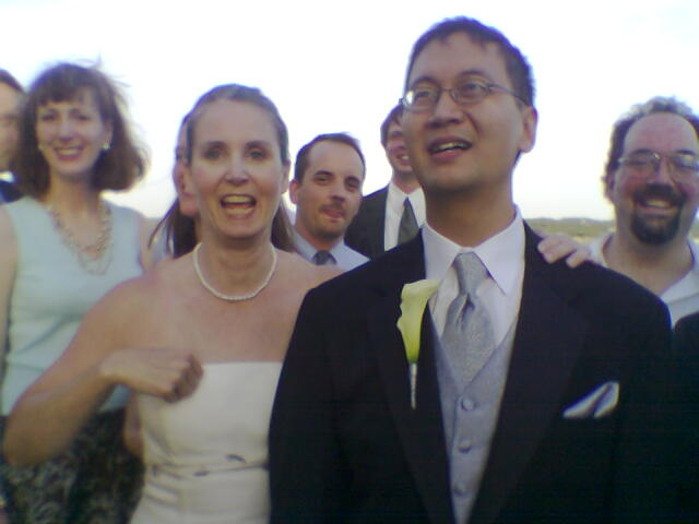 Teresa and Min in Wedded Bliss