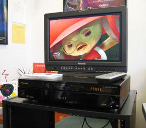 Blu-ray Player Angled
