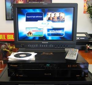 Blu-ray Player with Demo Disc Menu