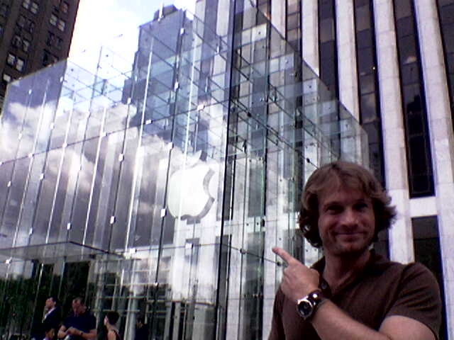 Apple Store 5th Avenue Glass Cube