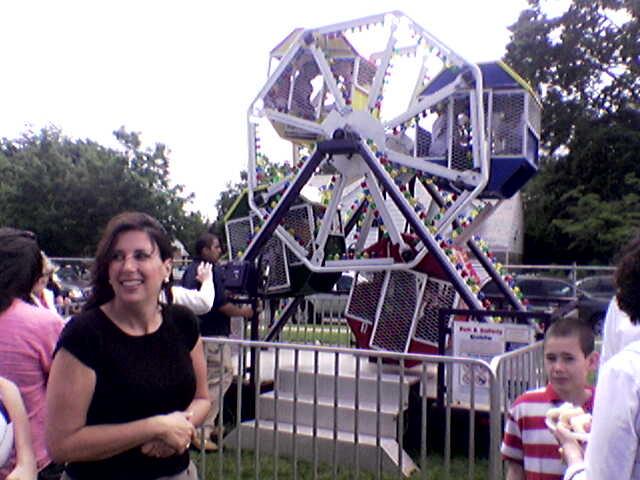 Wilson School's Tiny Ferris Wheel