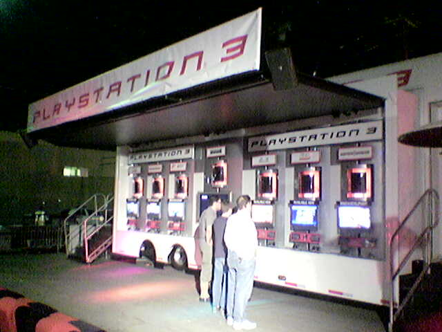 PS3 Launch Truck