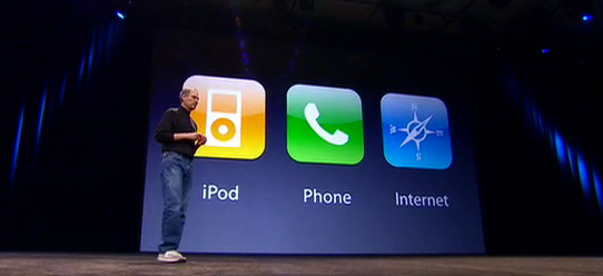 Steve Jobs Teases the Audience
