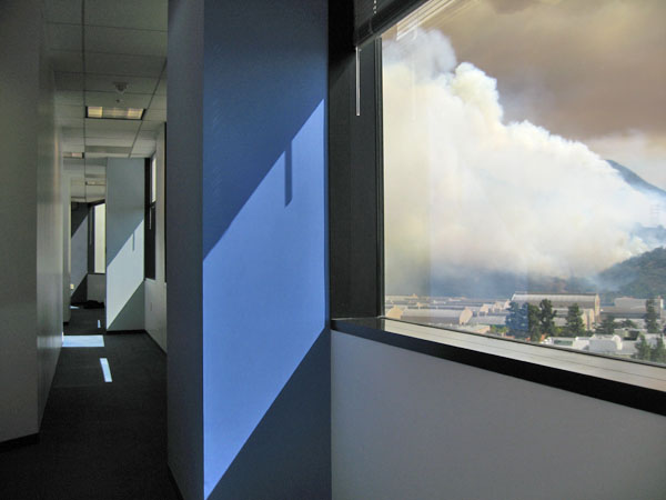 Fire from the 16th Floor