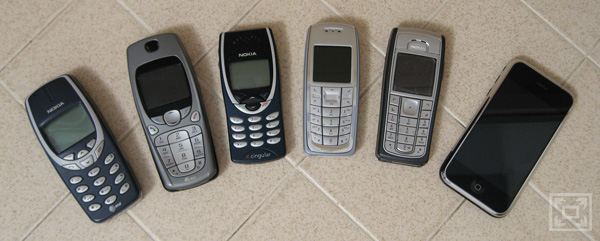 All My Cell Phones