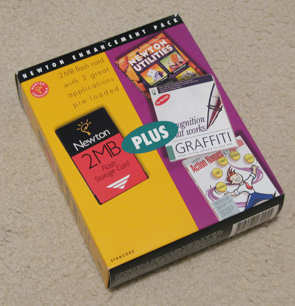 Newton 2MB Storage Card Box