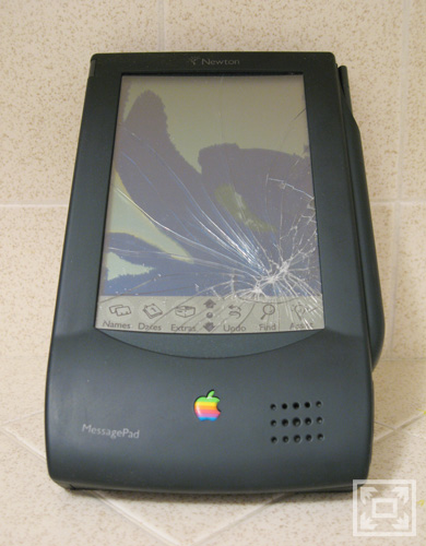 My Newton, Shattered