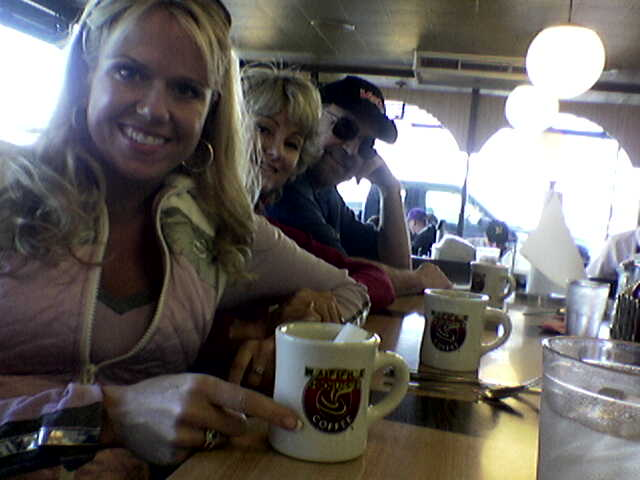 The family at Waffle House