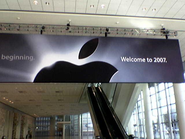 Macworld San Fransisco 2007 Banner